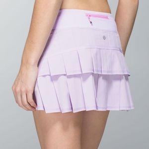 Lululemon Pace Setter Skirt- Lilac